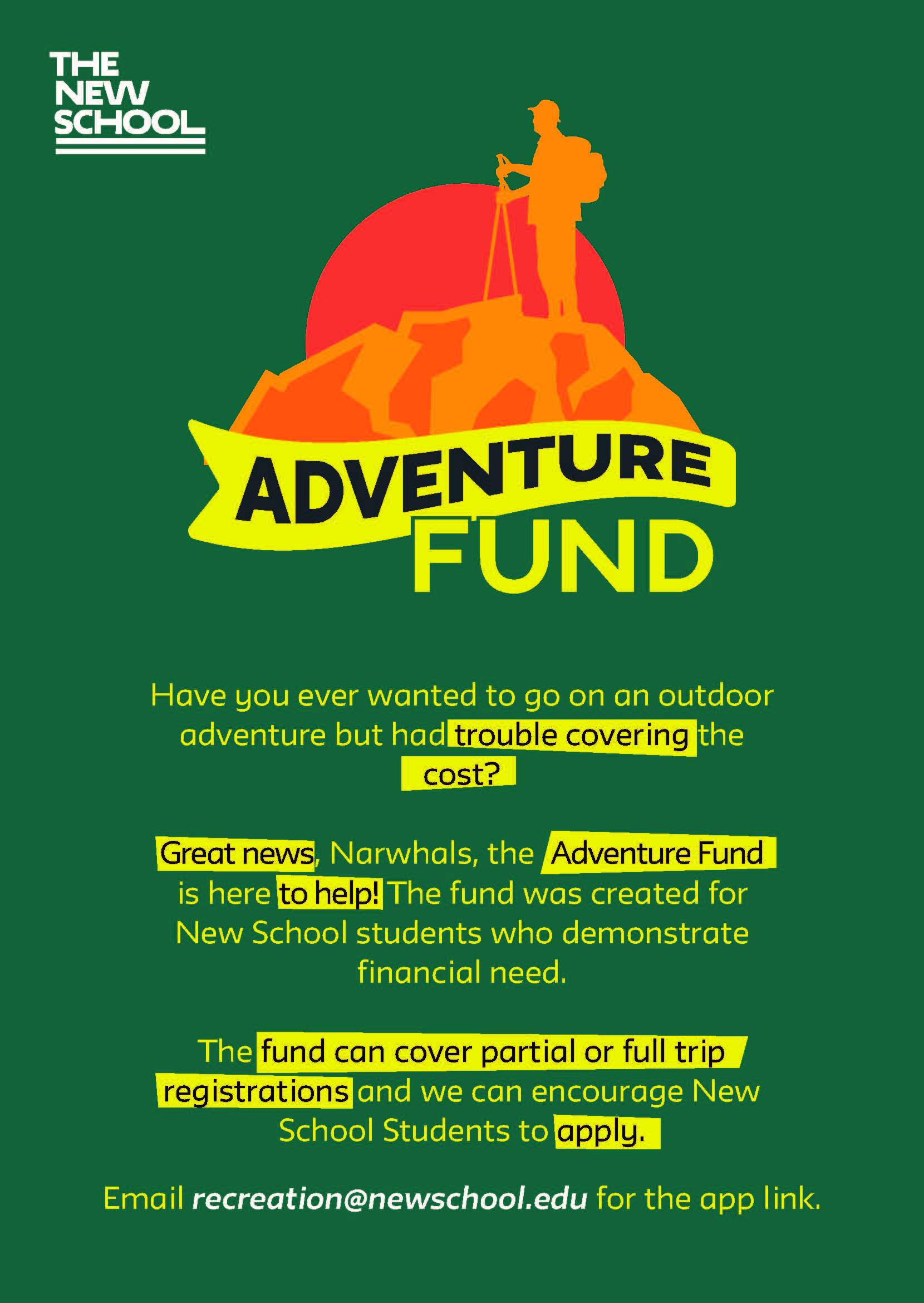 Adventure Fund Payments